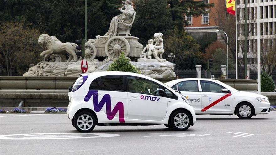 Emov escogió Madrid en diciembre del año pasado para lanzar su servicio de carsharing.