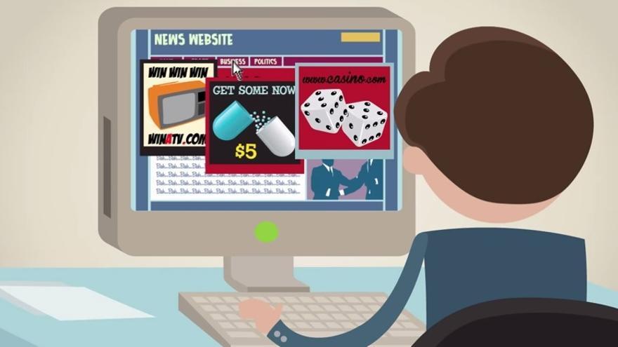 El 5% de todos los usuarios de internet bloquean la publicidad 'online'