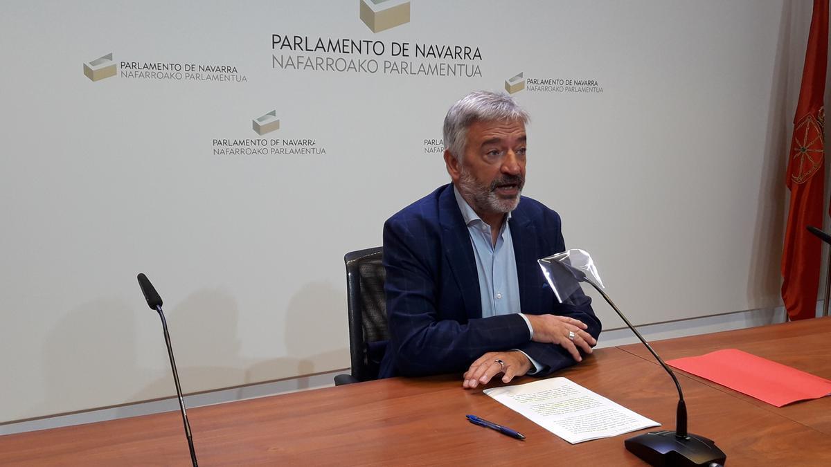El senador autonómico por Navarra, Koldo Martínez