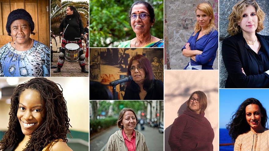 10 feministas de diferentes países del mundo responden a nuestras preguntas.