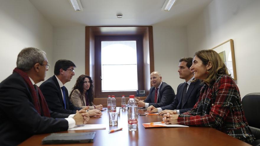 """Rivera destaca que el nuevo Gobierno andaluz """"se parece más a la sociedad civil que al carné de partido"""""""