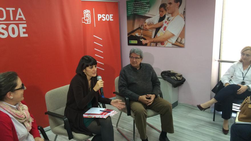María González Veracruz ha defendido el Ingreso Mínimo Vital como una prioridad en el futuro Gobierno del PSOE