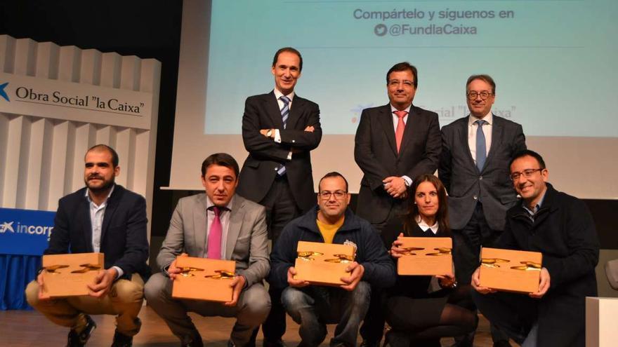 Programa Incorpora la Caixa Extremadura