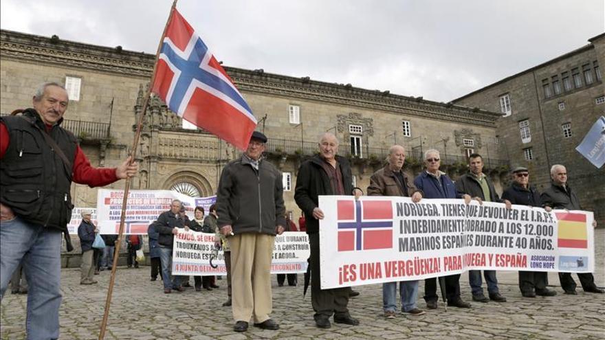 """Los marineros que reclaman a Noruega sus pensiones creen que """"se ríen de ellos"""""""