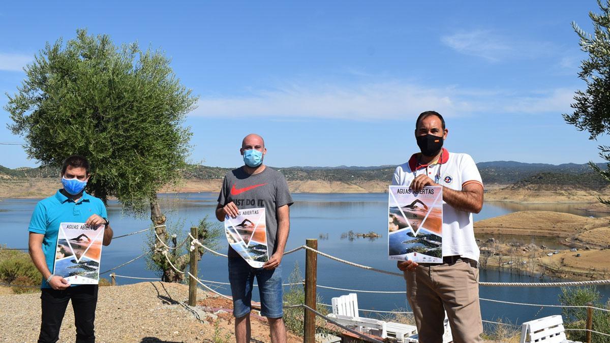 Presentación de la prueba de aguas abiertas en La Breña.