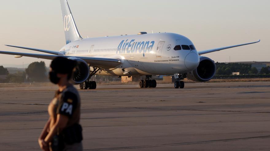 Llega a Madrid el segundo avión con 110 evacuados españoles y afganos