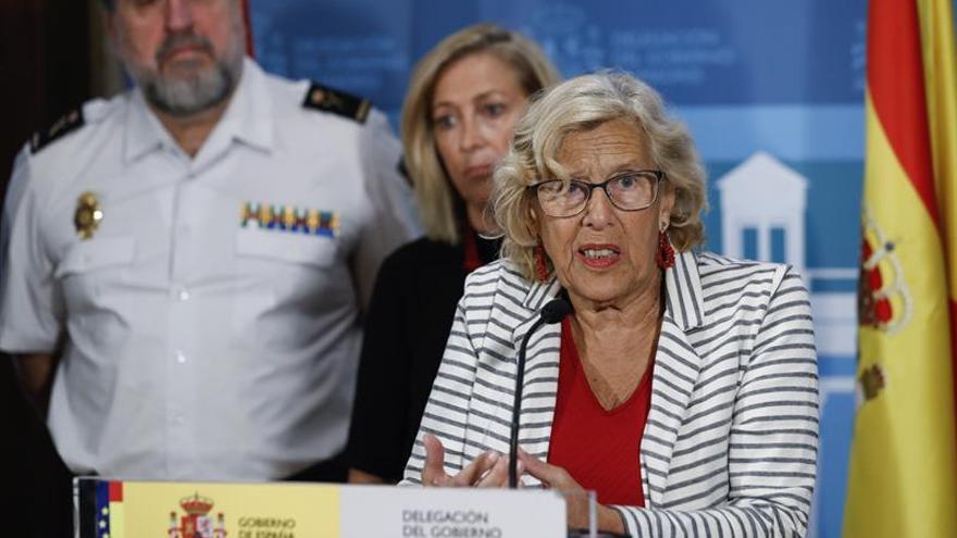 Carmena: La petición para el acto pro referéndum cumple todos los requisitos