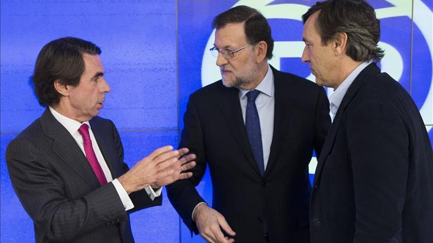 """Aznar pide un """"Congreso abierto"""" del PP al que él no se presentará"""