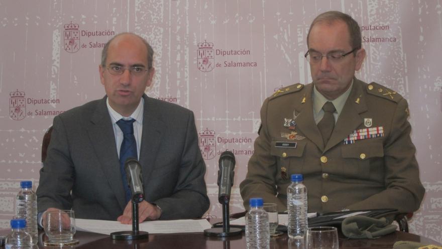 La Plaza Mayor de Salamanca albergará un desfile militar el próximo 21 de septiembre