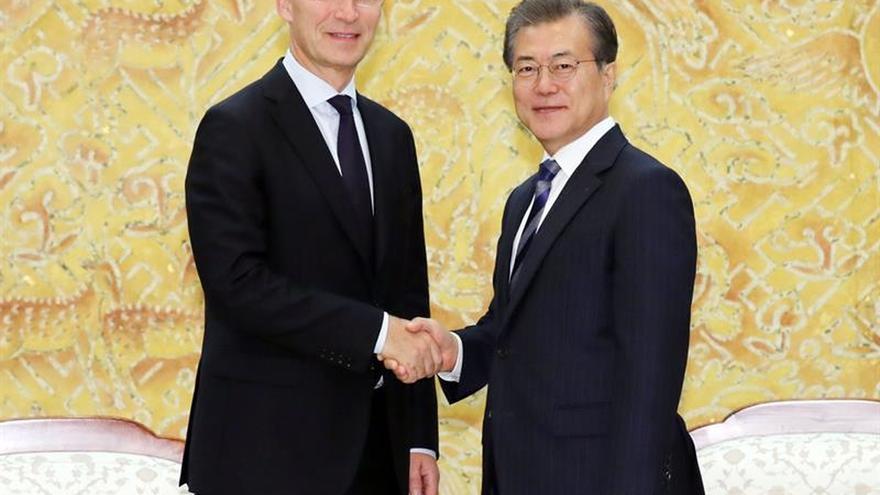 """La OTAN quiere una """"solución pacífica y negociada"""" para la crisis norcoreana"""