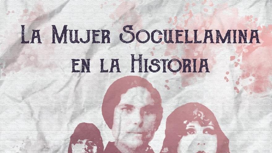 cartel charla mujer en la historia socuéllamos