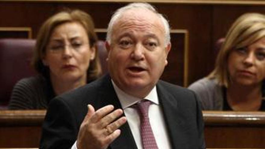 Miguel Ángel Moratinos en el Congreso