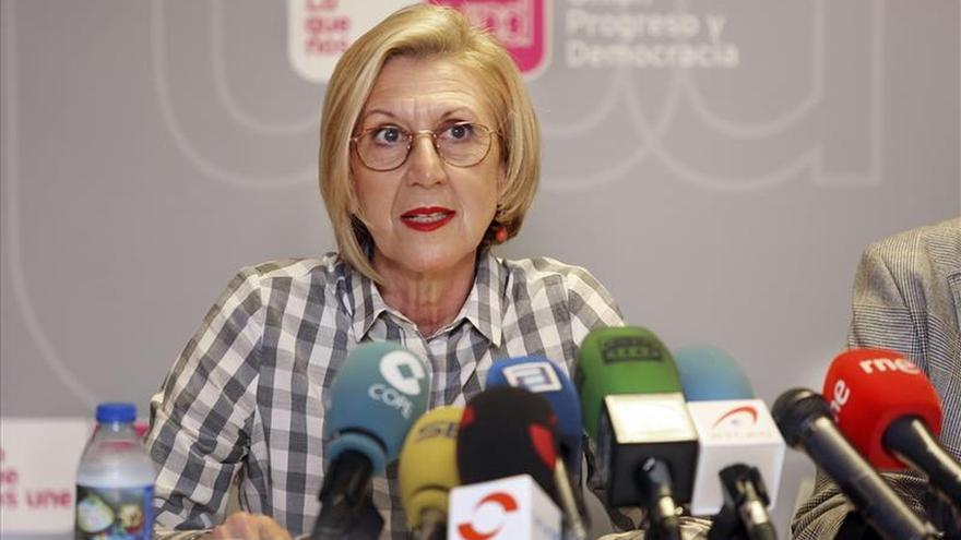 Díez centra su campaña en Madrid para salvar la presencia institucional de UPyD