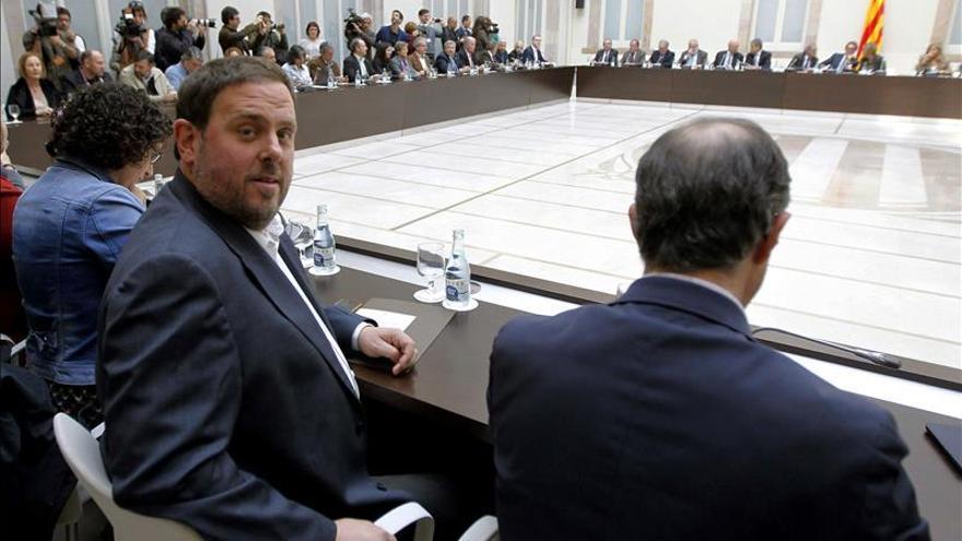 """ERC, ICV y CUP confían en que el Govern """"cumpla"""" su papel el 9N"""
