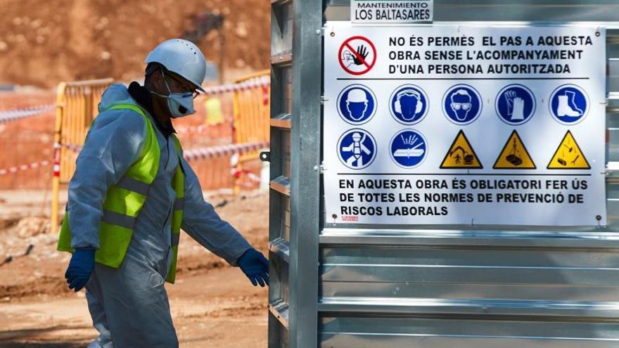 España, segundo país de UE donde más cayó construcción en febrero, un 7,2 %