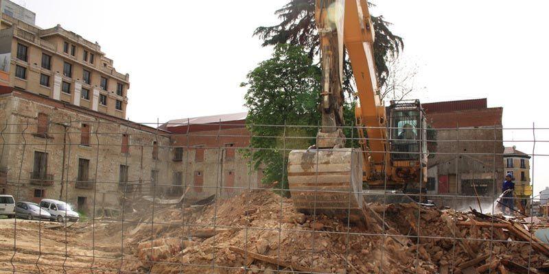 Las obras de demolición parcial de 2011   URBANITY