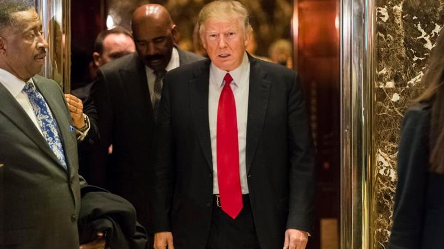 Trump sugiere que levantará las sanciones a Rusia transcurrido un tiempo