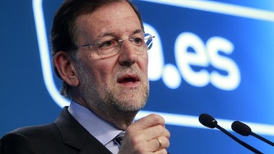 Primer Plano De Mariano Rajoy