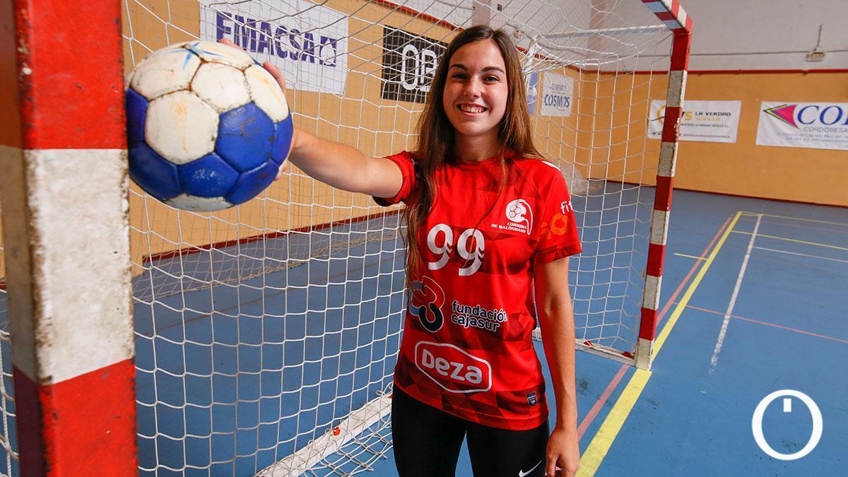Ángela Zurera, jugadora del Deza CBM