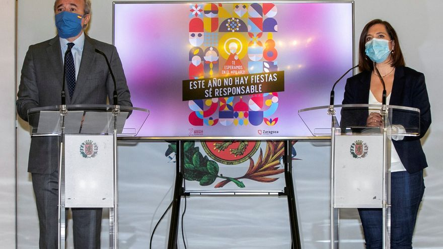 Zaragoza llama a la solidaridad de sus vecinos para no celebrar el Pilar