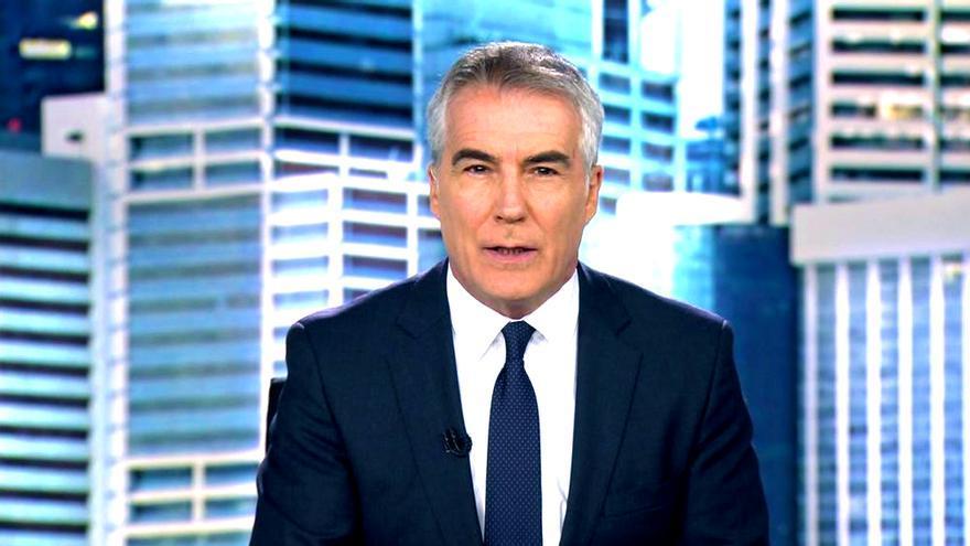David Cantero en Informativos Telecinco