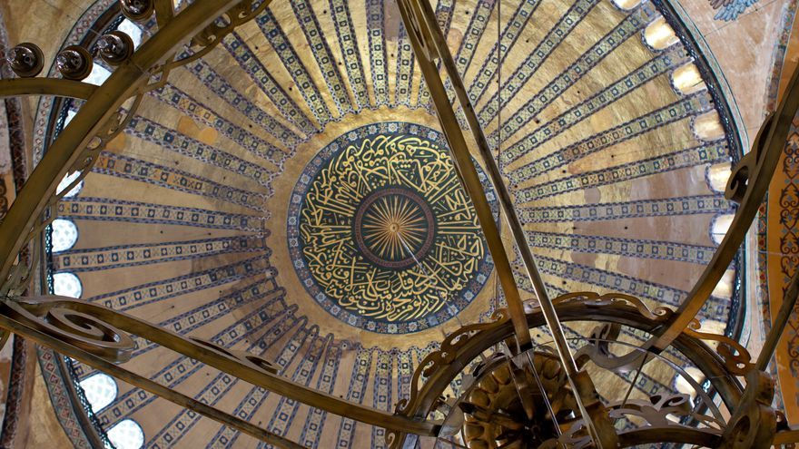 Cúpula de Santa Sofía de Constantinopla, la joya del arte bizantino. VIAJAR AHORA
