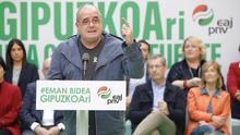 """Egibar dice que se quieren prohibir consultas y dar """"un escarmiento"""" a una generación de políticos catalanes"""