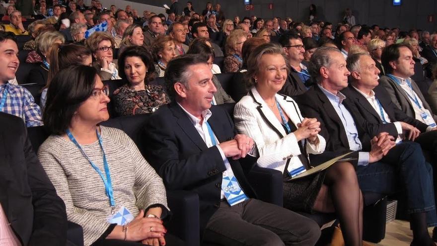 """Beamonte se compromete a trabajar """"con esfuerzo y compromisos"""" para que el PP gobierne de nuevo en Aragón"""