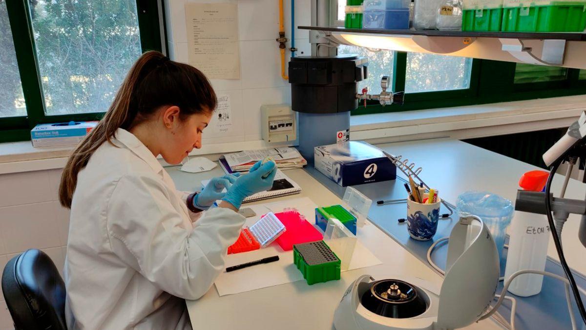 Una investigadora de la Universidad de Córdoba.