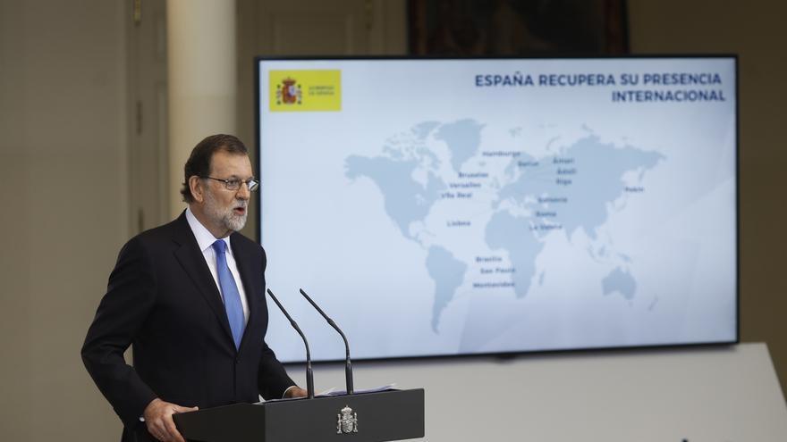 """Rajoy pide a Maduro que reconsidere la Constituyente y recuerda que no se descartan """"medidas adicionales"""""""