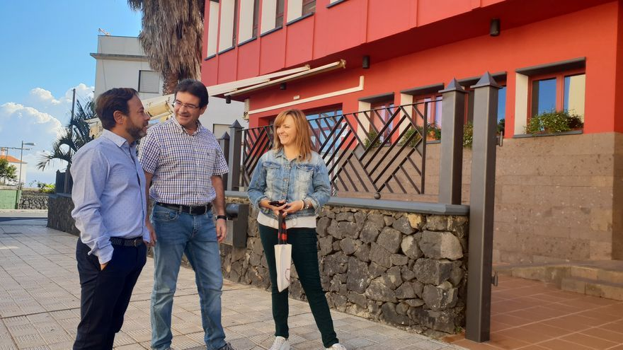 Visita de César Martín este sábado a Puntallana.