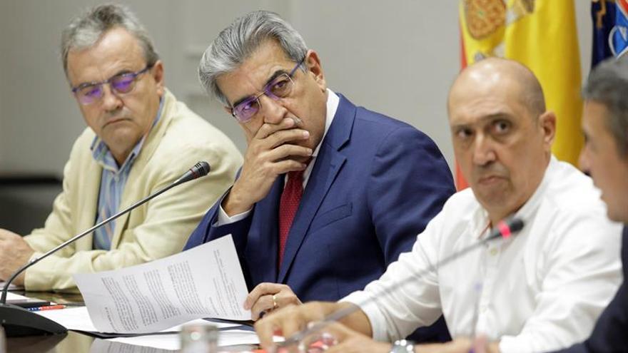 Rodríguez, durante la comisión parlamentaria