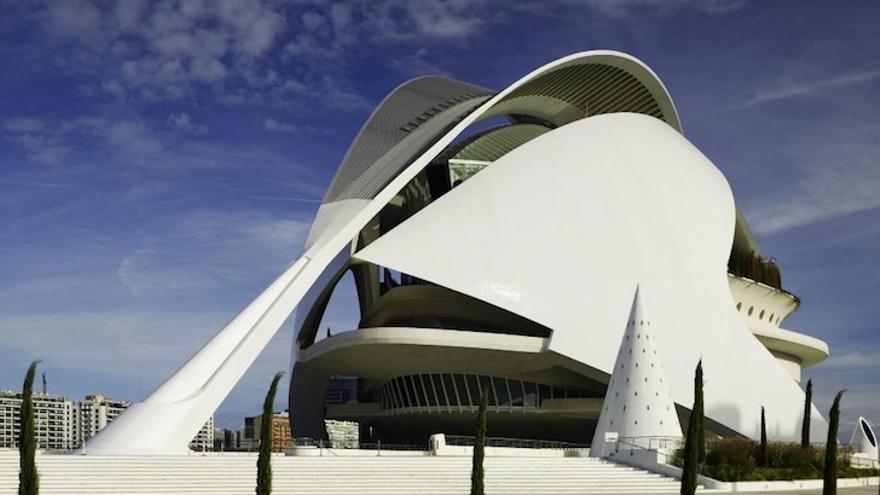 Palau de les Arts de València.