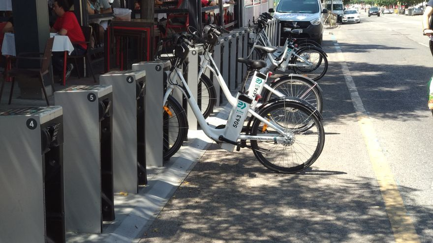 BiciMAD expansion without staff explodes in summer: mission impossible to find bikes
