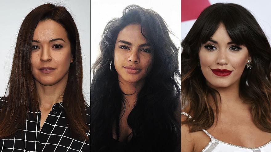 Las tres protagonistas de 'Sky Rojo'
