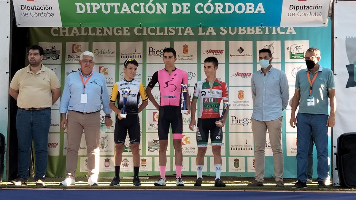 Ganadores de la primera etapa de la II Challenge de la Subbética.