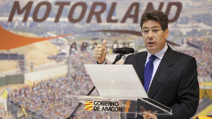 Arturo Aliaga, portavoz del PAR y expresidente de MotorLand.