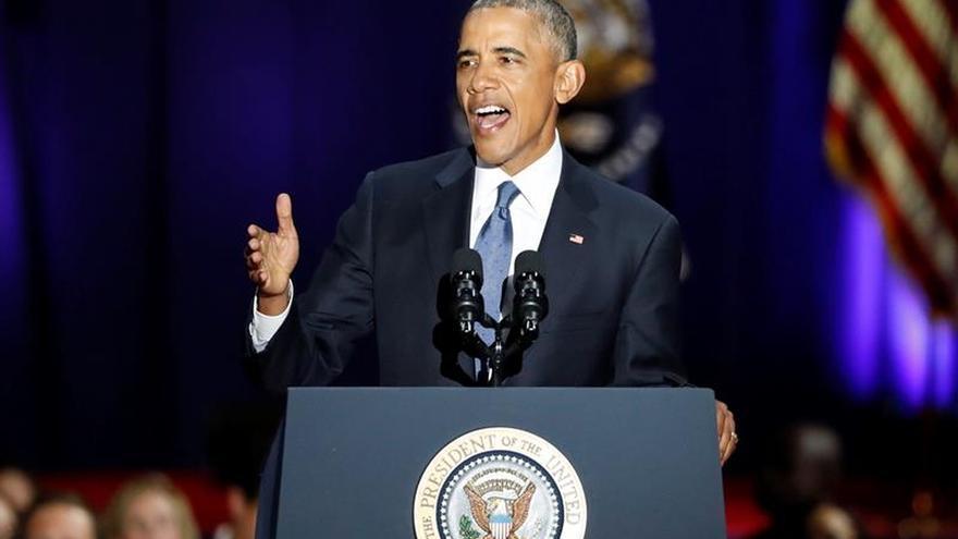 """Obama dice que es tarea de """"todos"""" ser """"guardianes"""" de la democracia"""
