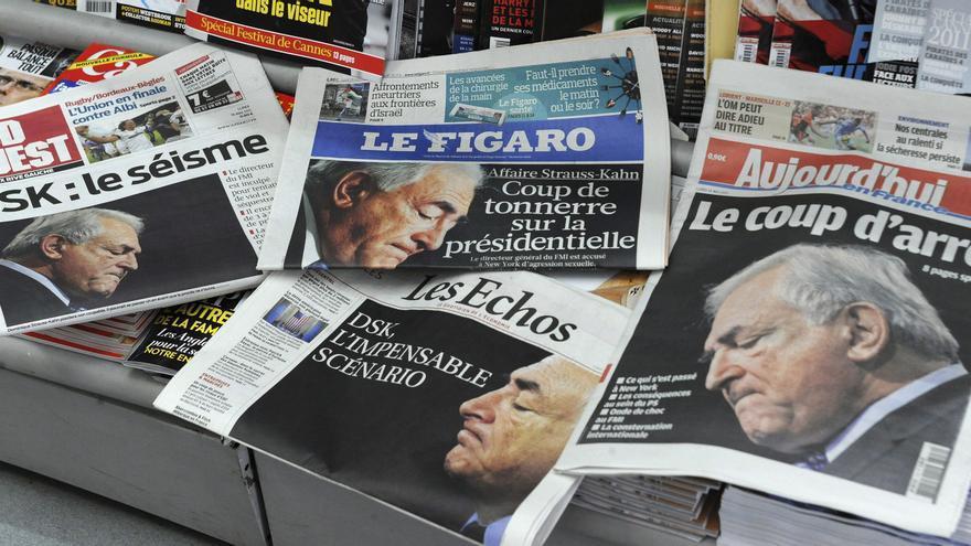 Varios diarios franceses ausentes de los kioscos por distintas protestas