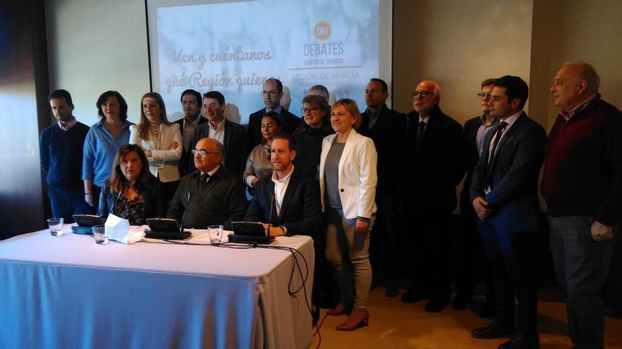 La Plataforma Cívica de Murcia, cuyo coordinador ex el expresidente Alberto Garre, será partido político en febrero