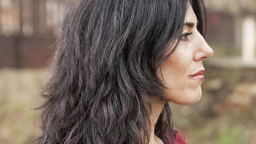 Raquel Lanseros, autora de 'Matria'