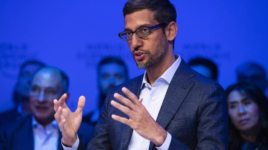 Pichai (Google) avala una regulación global de la inteligencia artificial