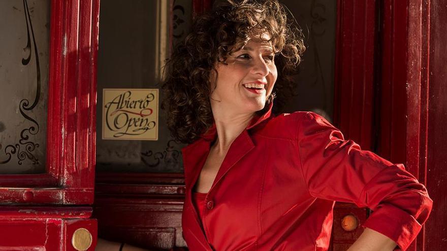 Imagen de la actriz gaditana Ana López Segovia.