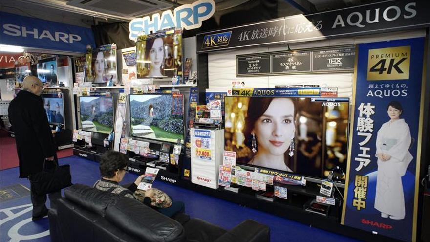 Sharp se desploma en bolsa ante una posible reducción de capital
