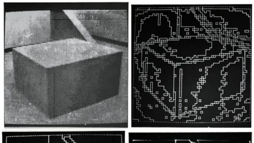 Shakey utilizaba los primeros sistemas de visión artificial