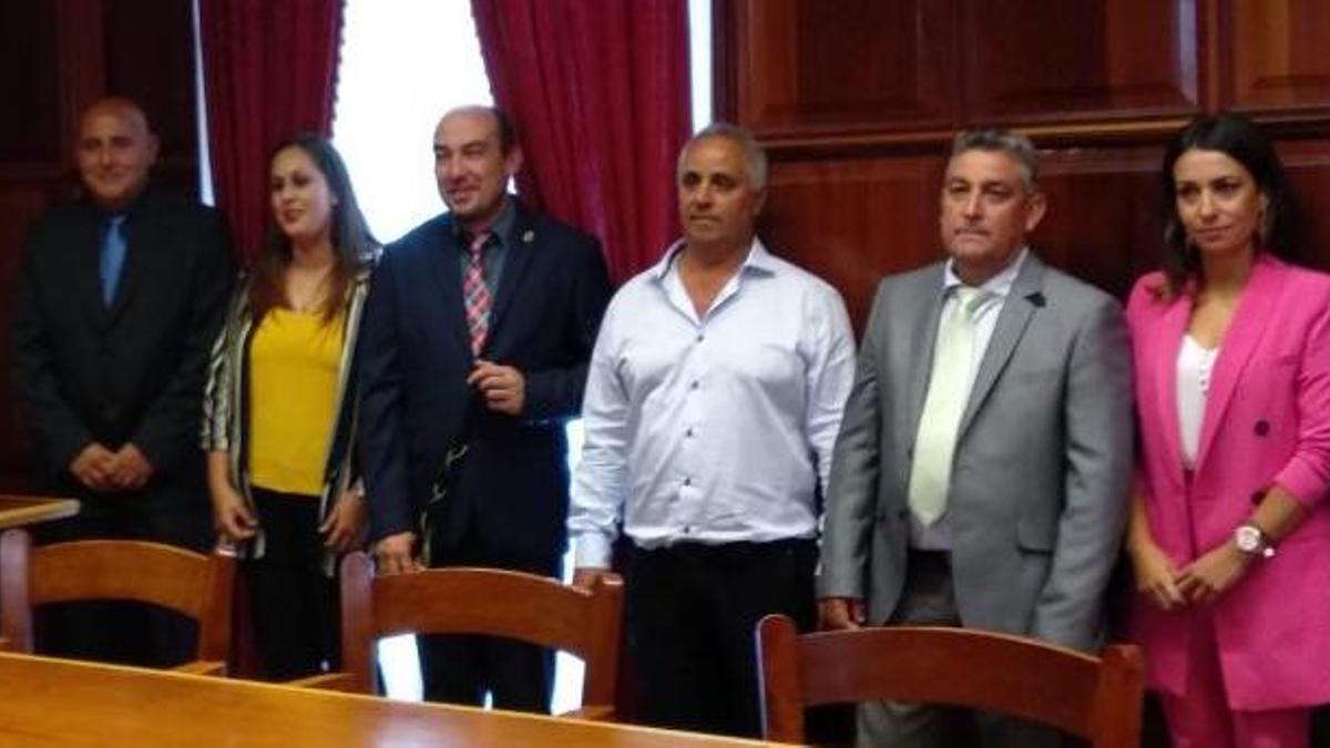 Grupo de Gobierno del Ayuntamiento de Garafía.