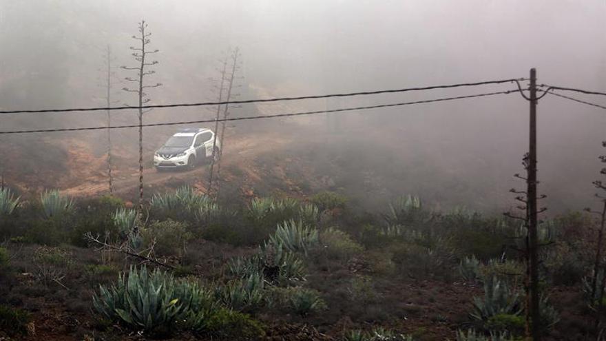 Dispositivo de búsqueda desplegado este miércoles en la zona alta de Adeje (Tenerife)