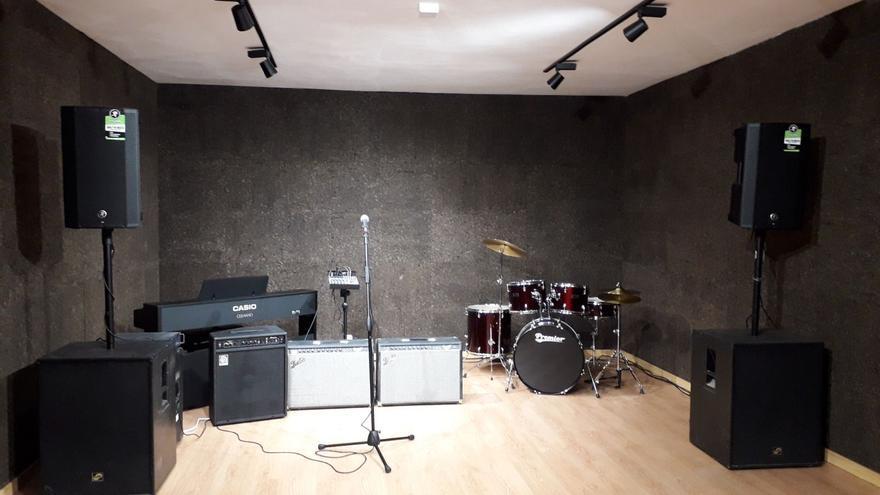 El nuevo espacio juvenil 'Aridane Suena'.