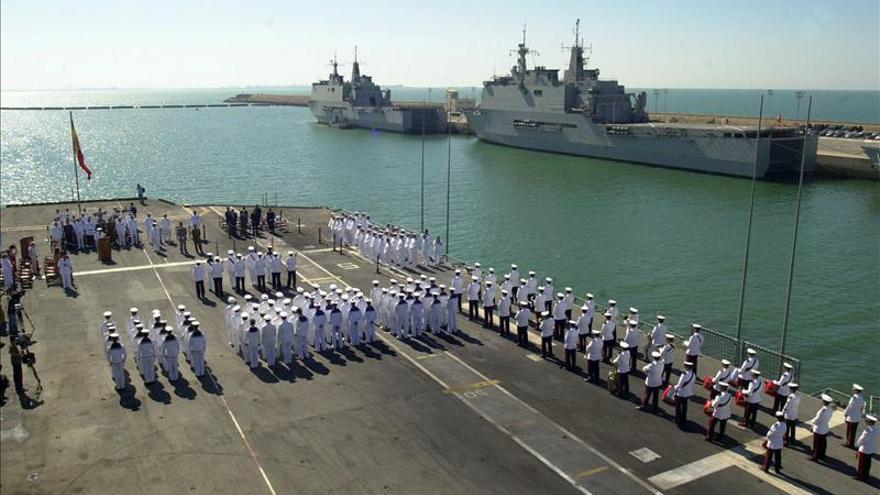 La Fuerza Marítima Europea celebra su 20 aniversario en Cartagena