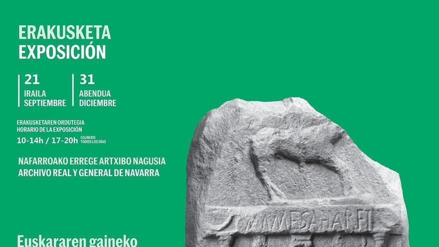 El Archivo de Navarra acoge la exposición 'Navarrorum. Dos mil años de documentos navarros sobre el Euskera'